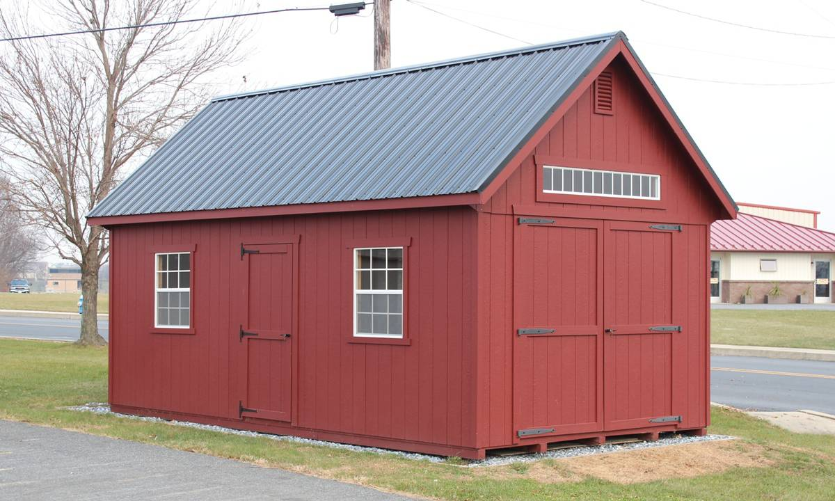 Your best choice for quality custom sheds from lancaster for New england barns for sale