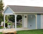 Your best choice for quality custom sheds from lancaster for Lanai structure