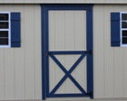Single and Double Fiberglass and Wooden Doors with Windows Lapp Structure Sheds Garages