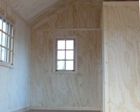 Finished Interior Examples for Lapp Structure Storage Sheds and Dreamspaces
