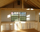 Interior Storage Options for Lapp Structure Storage Sheds and Dreamspaces