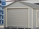 Overhead Garage and Shed Doors - Lapp Structures DreamSpaces