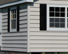 Exterior Shed Siding Options for Lapp Structure Storage Sheds and Dreamspaces