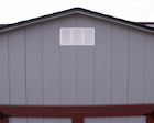 Metal Gable Vent Lapp Structure Storage Sheds and Dreamspaces