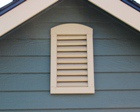 Painted Gable Vent Lapp Structure Storage Sheds and Dreamspaces