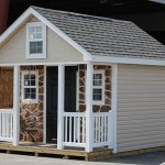 Playhouse by Lapp Structures Lancaster PA Top Amish Shed Company