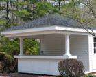 Exterior Shed Porches and Overhangs for Lapp Structure Storage Sheds and Dreamspaces
