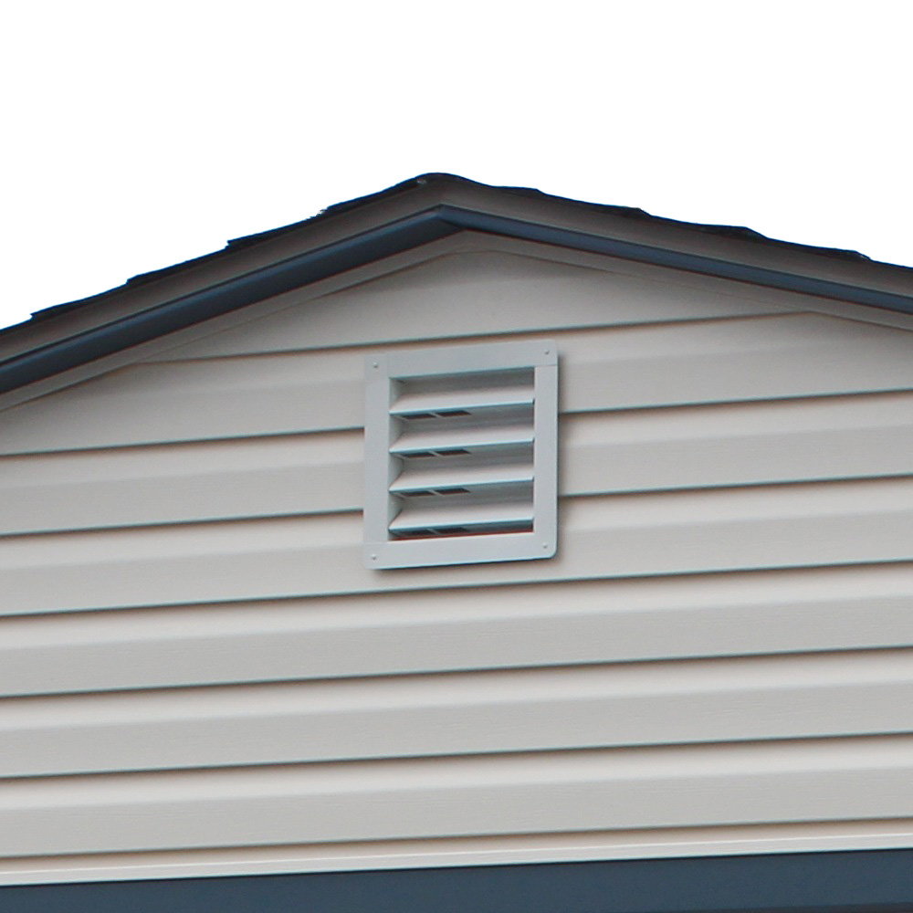 Basic Metal Gable Vent for Vinyl Siding
