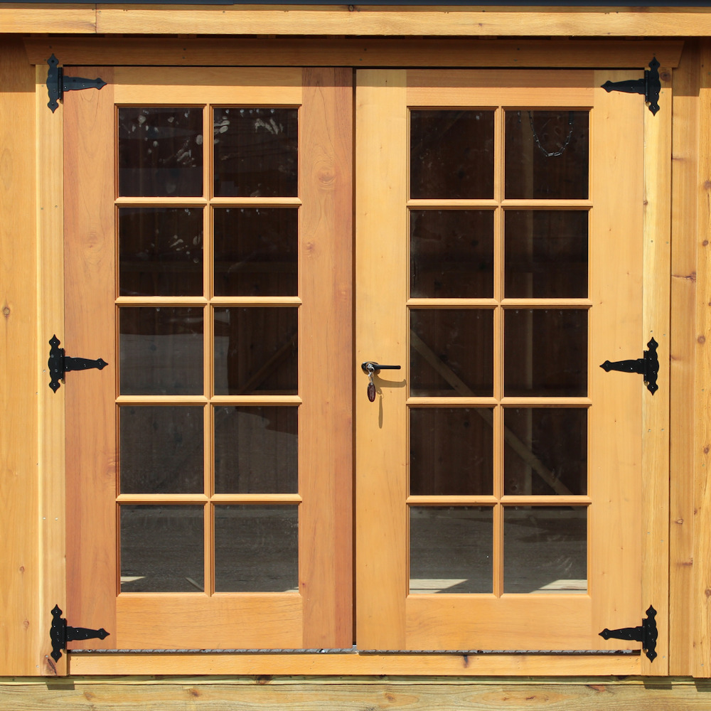 Custom-Made Cedar Entry Door