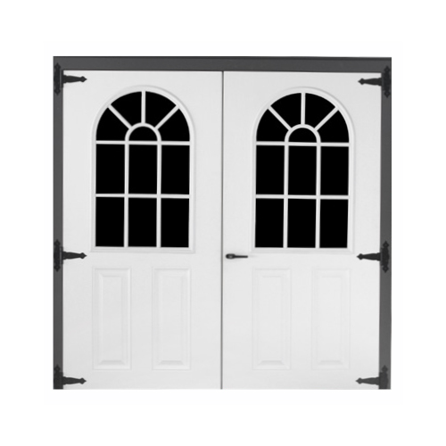 Fiberglass 11-lite Double Door