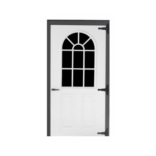 Fiberglass 11-lite Single Door