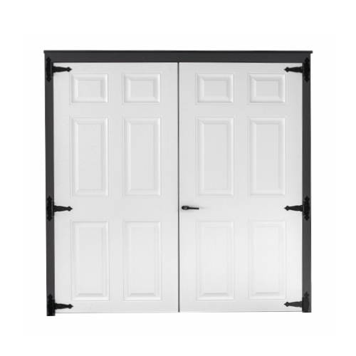 Fiberglass Solid Double Door
