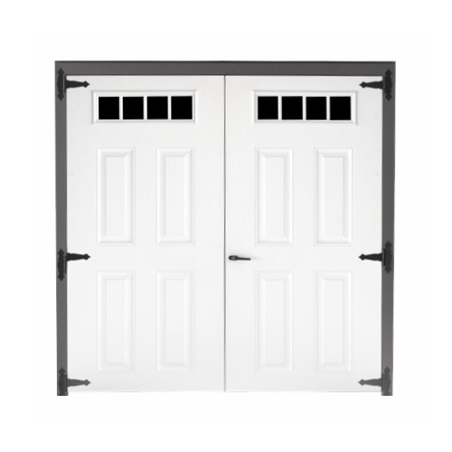 Fiberglass Transom Double Door