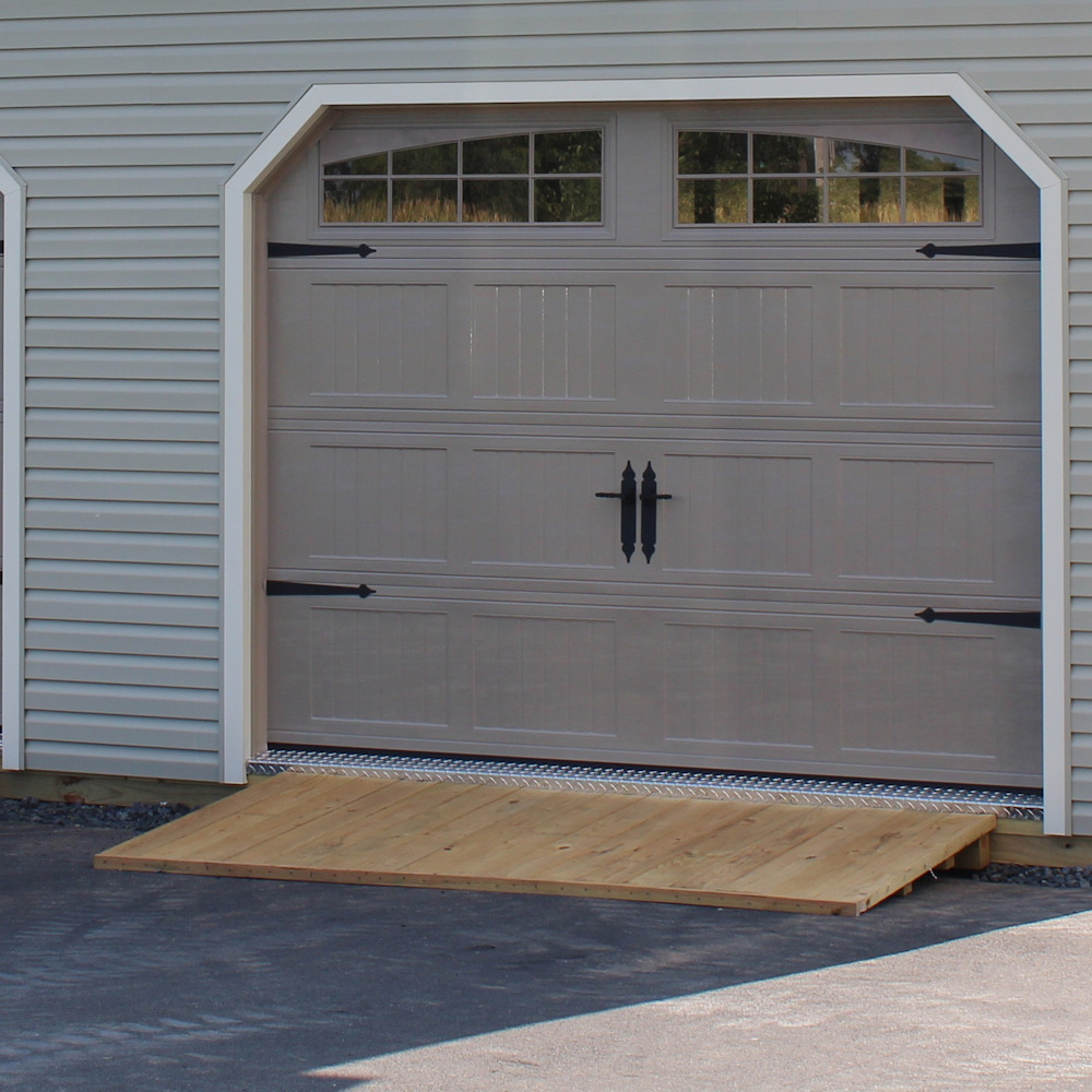 Overhead Door Ramp