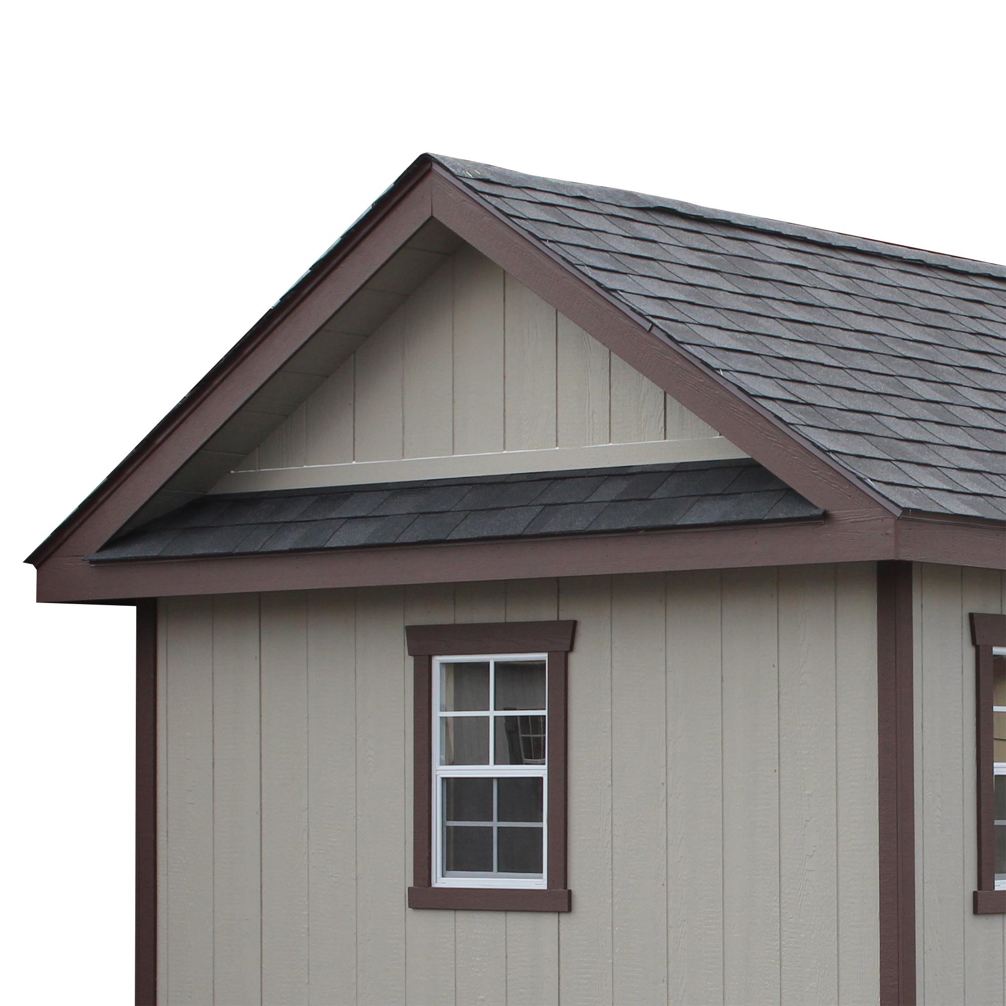 Pent Roof Overhang