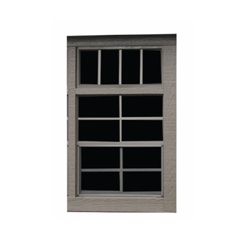 Transom Window above Slider Window