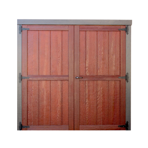 Wood Garden Shed Double Door