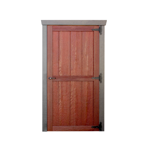 Wood Garden Shed Single Door