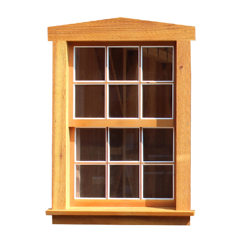 Wooden Vertical Slider Window with Screens