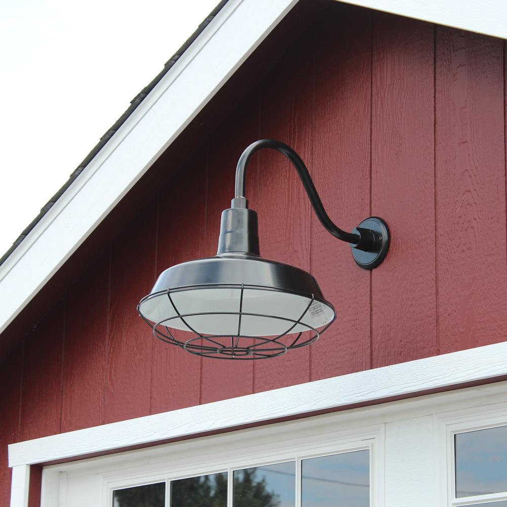 Exterior Overhead Pan Light
