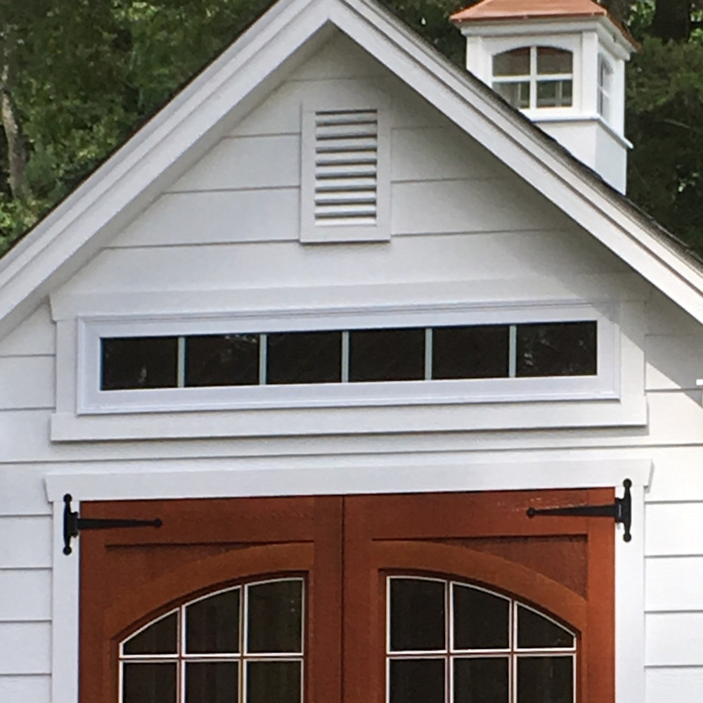 Long Vinyl Insulated Transom Window