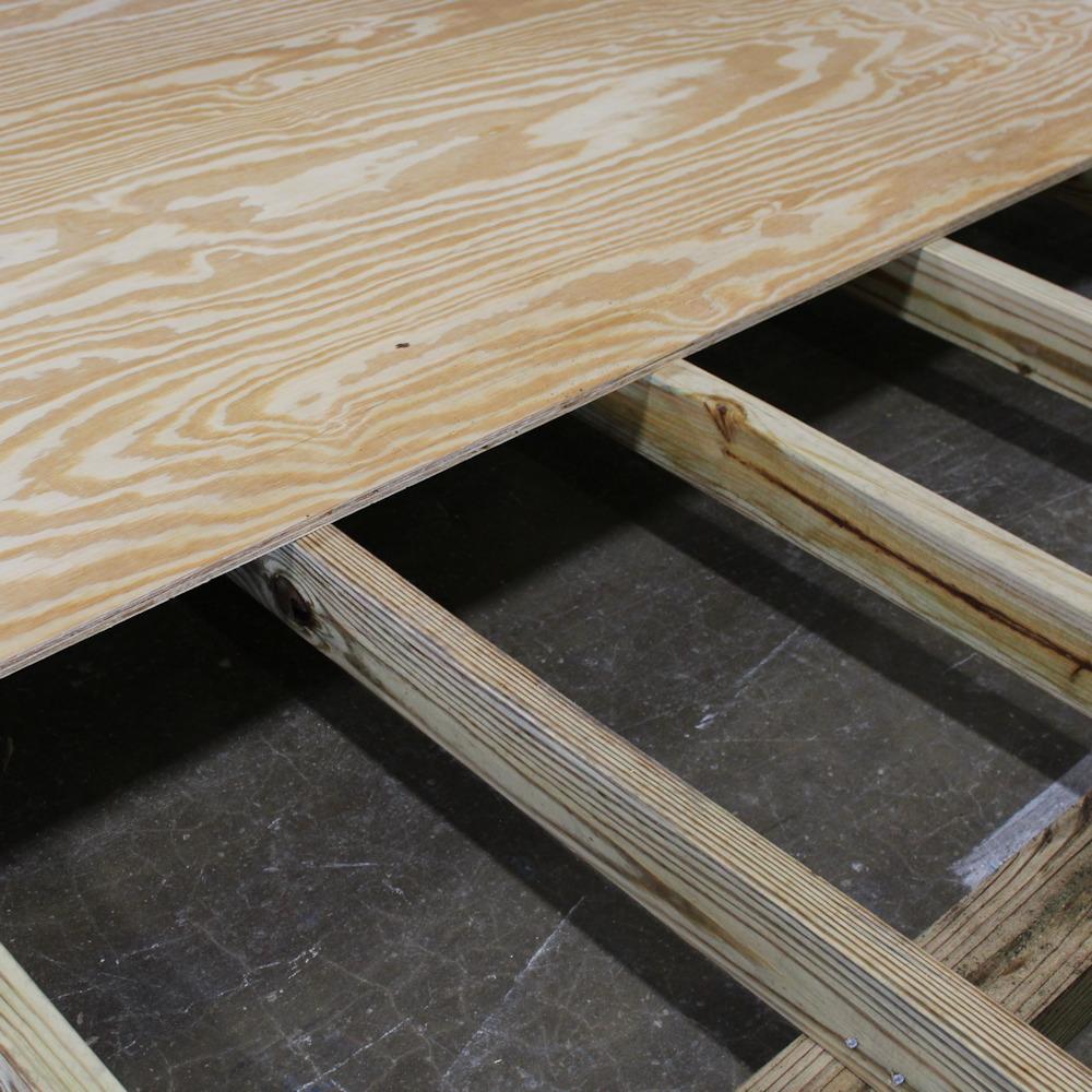 Shed Floor Cutaway