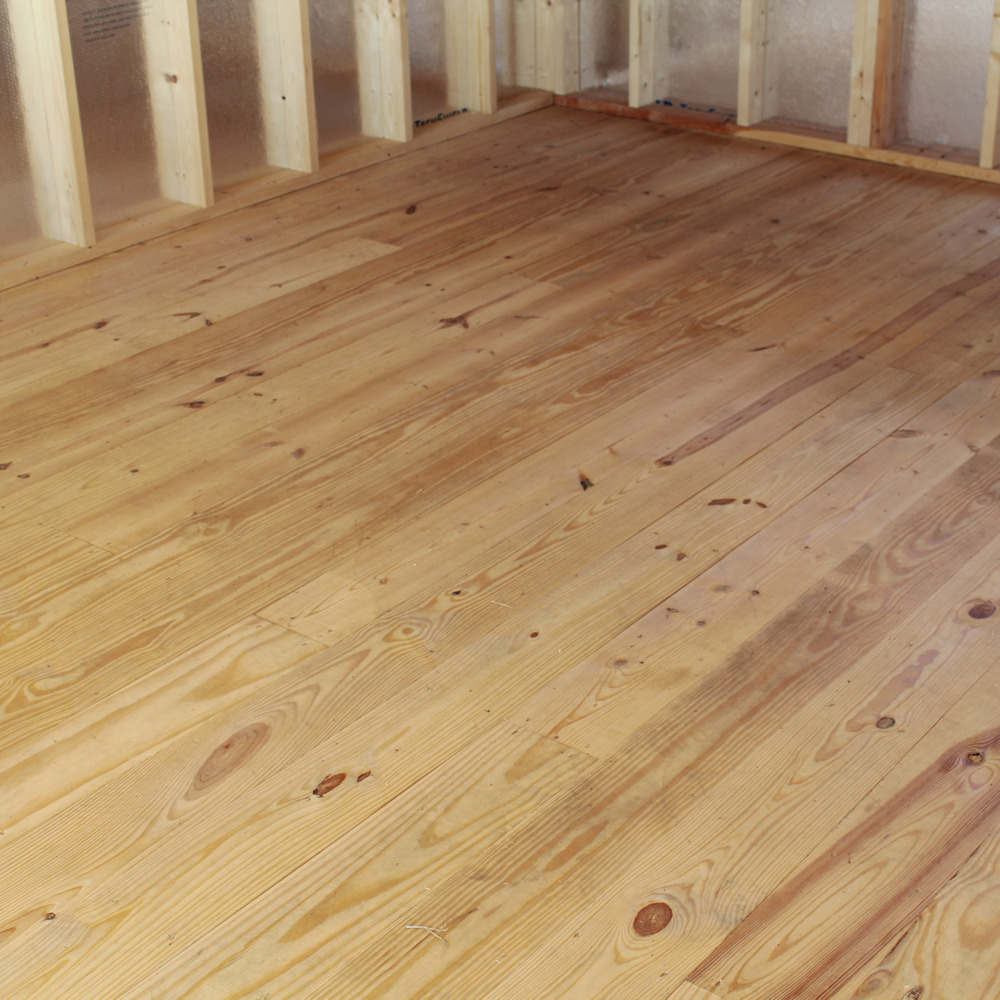 Tongue & Groove 2 x 8 Flooring